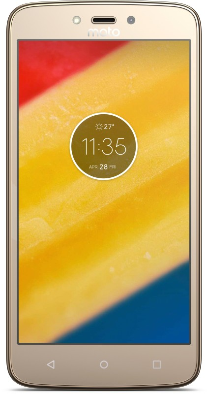 Moto C Plus (Fine Gold, 16 GB)(2 GB RAM)
