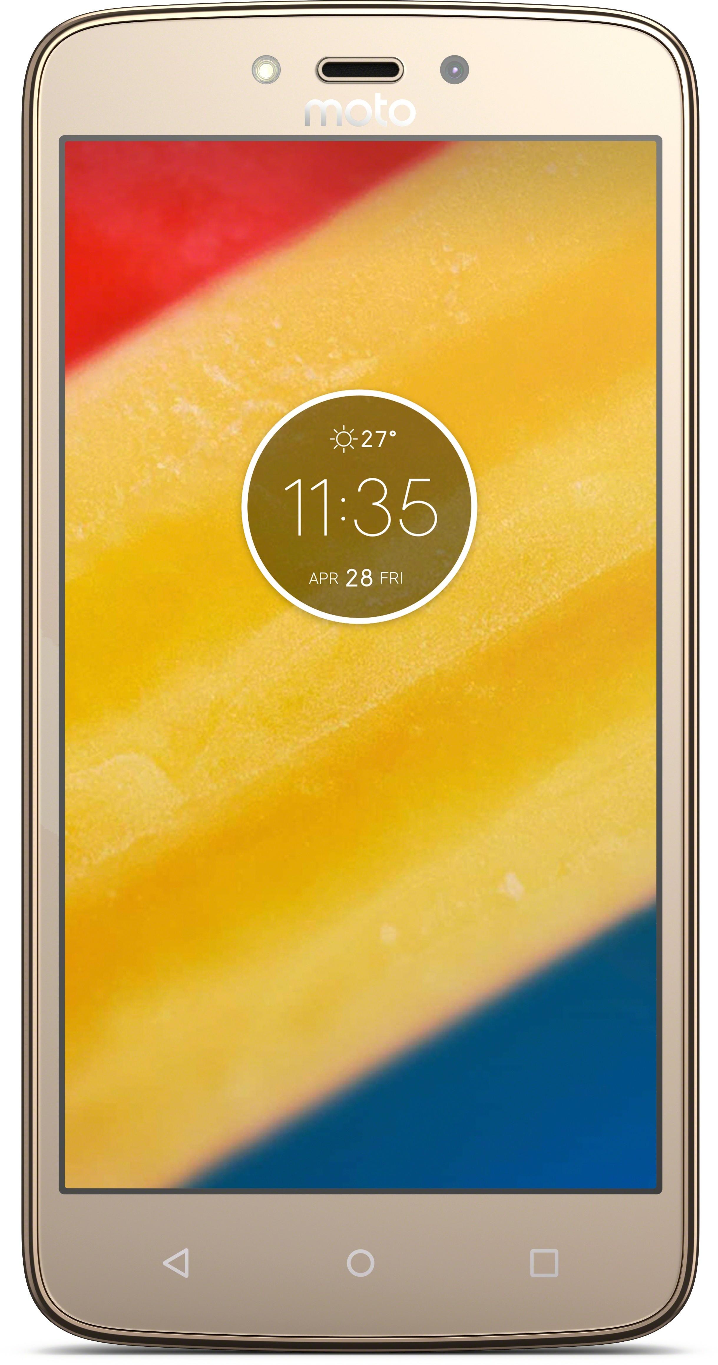 View Moto C Plus (Fine Gold, 16 GB)(2 GB RAM) Mobile Price Online(Motorola)