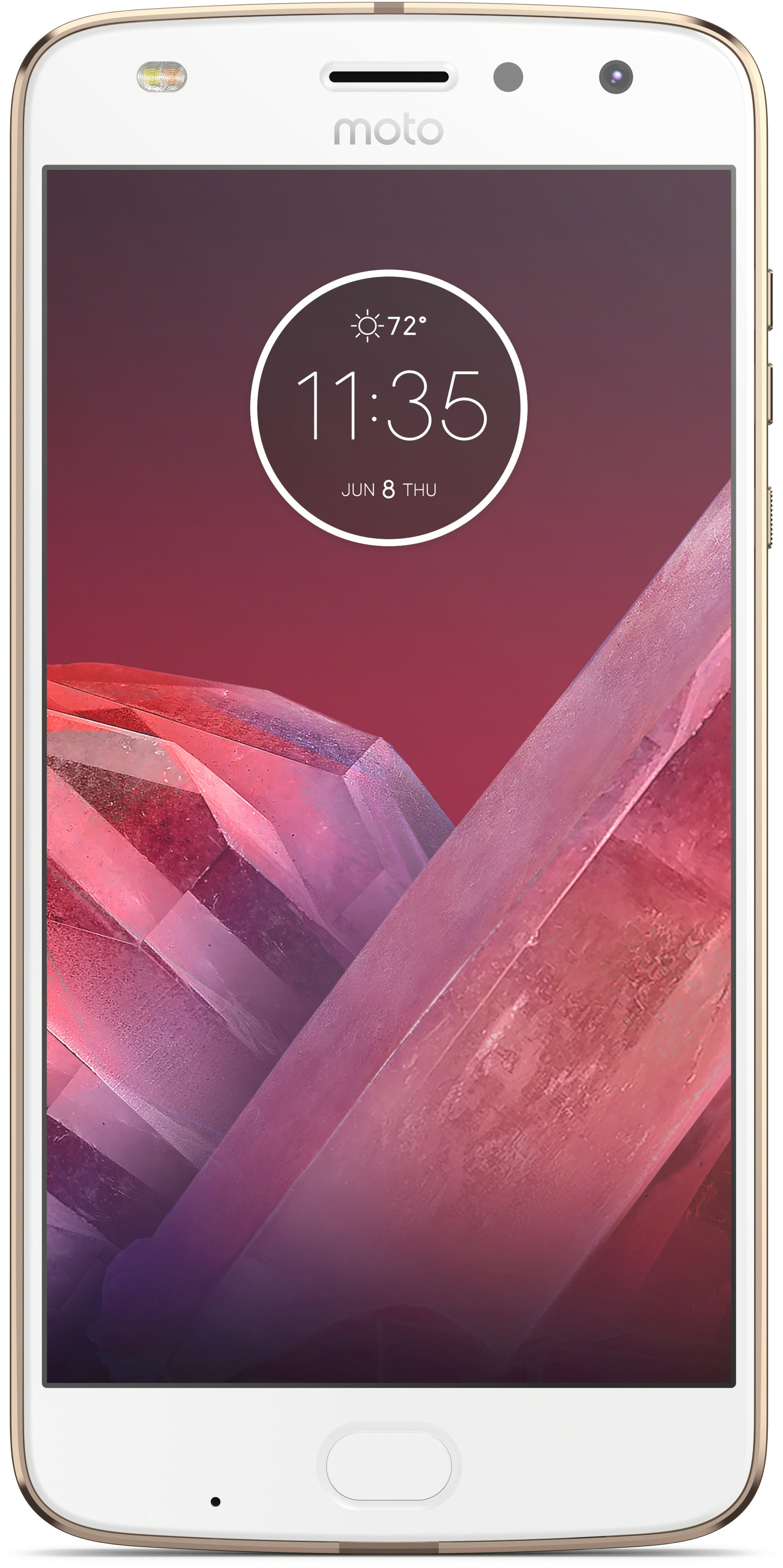 View Moto Z2 Play (Fine Gold and White, 64 GB)(4 GB RAM) Mobile Price Online(Motorola)