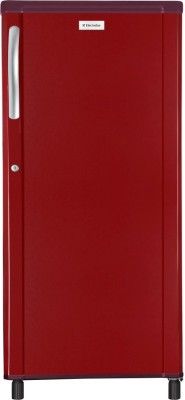 Electrolux 190 L Direct Cool Single Door Refrigerator(REF EC203PTBR-HDB, Burgundy Red, 2017)