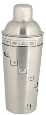 lovato 750 ml Steel Cocktail Shaker(Silver)