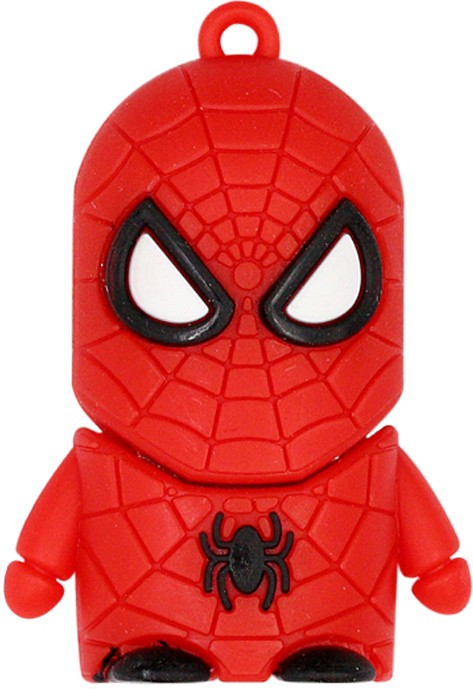 View Green Tree Fancy Spider Man 16 GB Pen Drive(Red)  Price Online