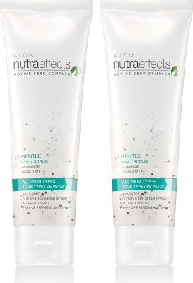 Avon Anew Nutraeffects Gentle 3 in 1 Scrub (set of 2) Scrub(200 g)