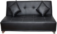 Cloud9 Single Solid Wood Sofa Bed(Finish Color - Black Mechanism Type - Fold Out)