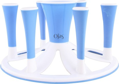 Ojas 6 Glasses Plastic Glass Holder
