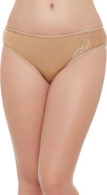 Clovia Women Bikini Beige Panty(Pack of 1)