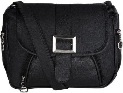JACY LONDON Sling Bag(Black)