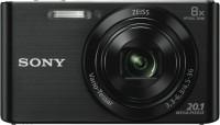 Sony DSC W830 Black NO Point & Shoot Camera(Black)
