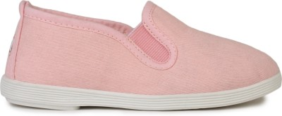 Scentra Boys & Girls Slip on Loafers(Pink)