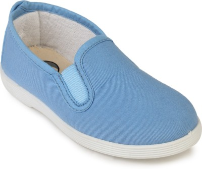 Scentra Boys & Girls Slip on Loafers(Blue)