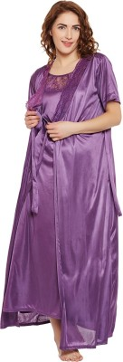 Clovia Women's Nighty(Purple) at flipkart