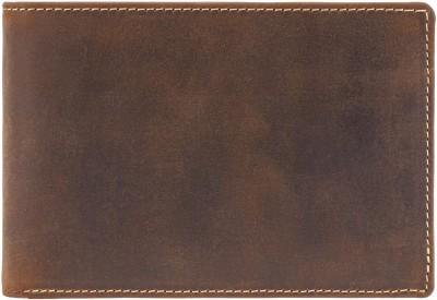 Visconti Men Tan Genuine Leather Wallet(7 Card Slots)