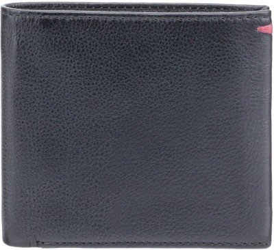 Visconti Men Red Genuine Leather Wallet(6 Card Slots)