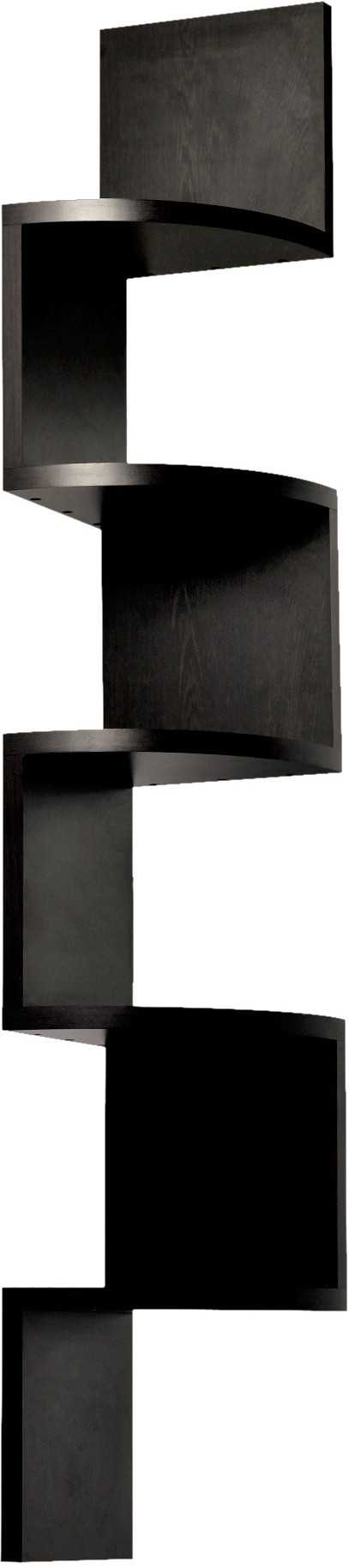 View Bluewud Morpheus Engineered Wood Open Book Shelf(Finish Color - Wenge) Furniture (Bluewud)