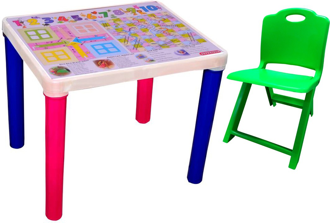 View Surety for Safety Plastic Desk Chair(Finish Color - Green) Furniture (Surety for Safety)