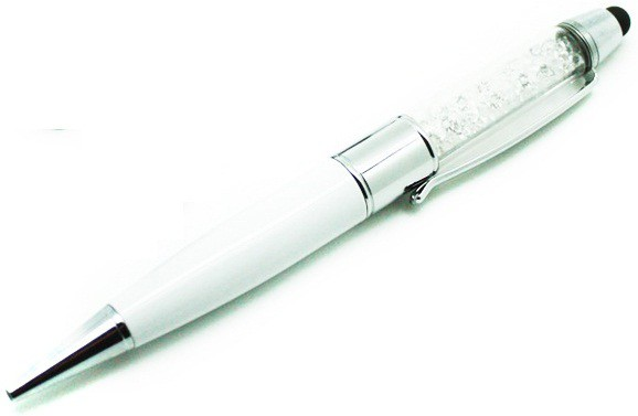 View Eshop Multi-function 3 in 1 Ballpoint Pen Style USB Flash Drive 8 GB Pen Drive(White) Price Online(eShop)
