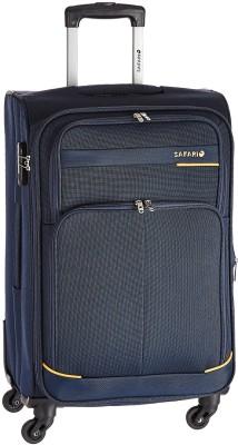 Safari Heavy Duty Expandable Cabin Luggage - 20 inch(Blue)