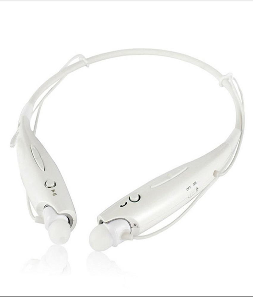 Jiyanshi nexG Mobile Phones Wireless Bluetooth Headset With Mic(White)