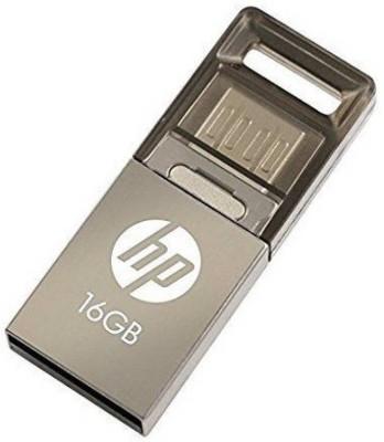 HP USB 2.0 OTG v510m 16 GB Pen Drive(Multicolor)