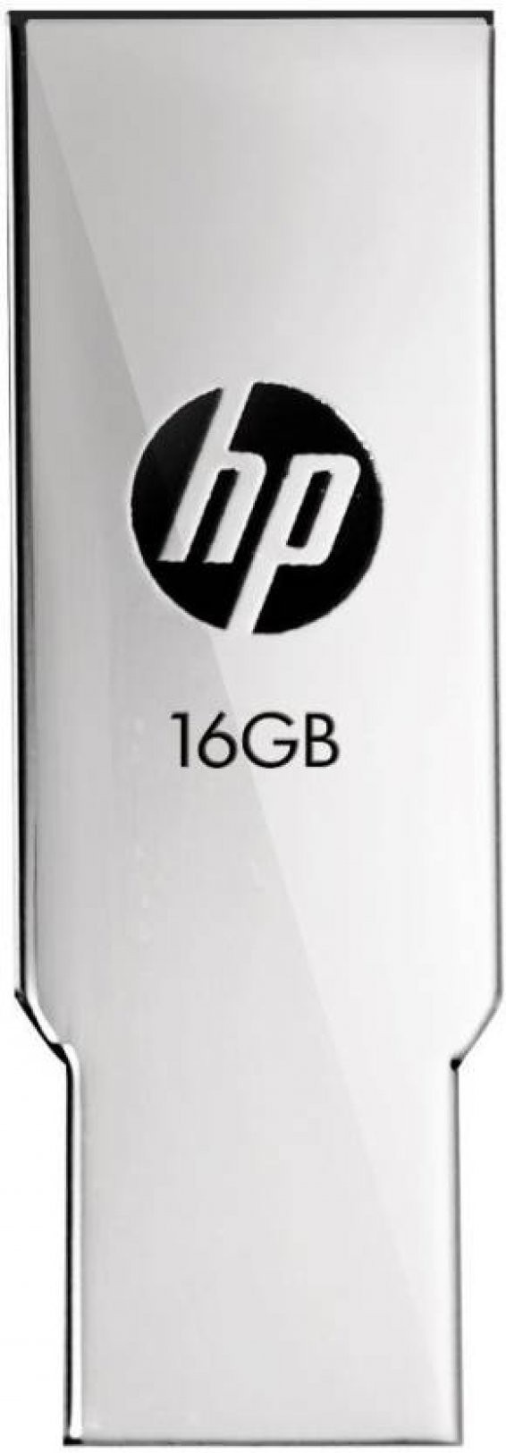 View HP USB 2.0 Flash Drive v237w 16 GB Pen Drive(Silver) Price Online(HP)