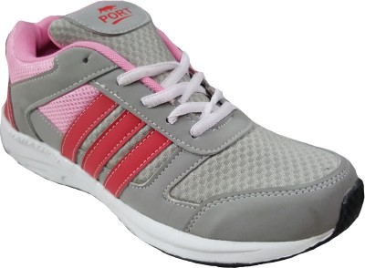 PORT Womens Pink Training & Gym Shoes(Pink)