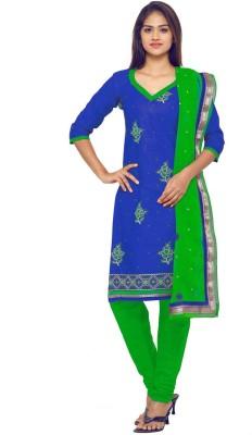 Divastri Polycotton Paisley, Embroidered Salwar Suit Dupatta Material(Un-stitched) at flipkart