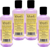 Khadi Herbals Lavender & Ylang Ylang Massage Oil(840 ml)