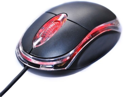 Onsmobs RANZ OPTICAL MOUSE Wired Optical Mouse(USB, Black) at flipkart