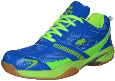 port PythonsRevibe Badminton Shoes(Blue)