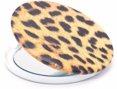 Color Fever Dual Magnifying Compact Mirror (Tiger Leash)