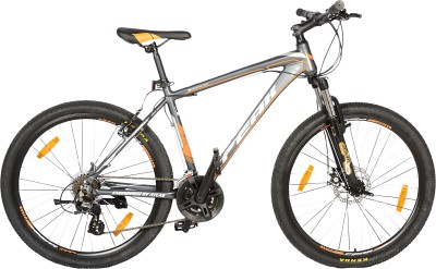 Atlas Peak P200 26Inches Multi Speed Black Or Grey P200BKOR Mountain Cycle(Multicolor)