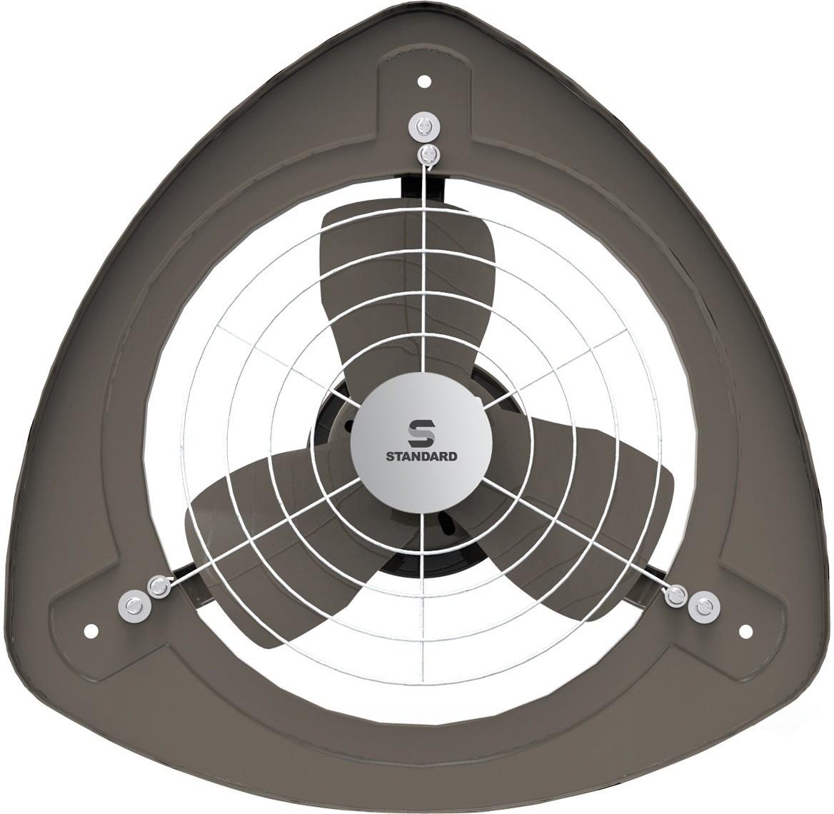 View Standard Refresh Air SP 3 Blade Exhaust Fan(BLACK) Home Appliances Price Online(Standard)