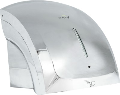 Dolphy Silver Unique Design Two Waves Automatic Hand Dryer Machine