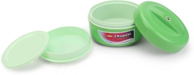 Cello crunch big 2 Containers Lunch Box(400 ml)