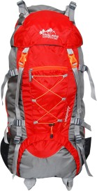 Himalayan Adventures HA-8104 Rucksack - 70 L(Red)