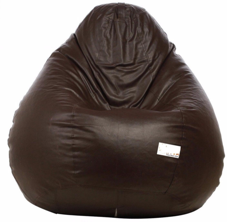 View VSK XXL Bean Bag Cover(Brown) Furniture (VSK)