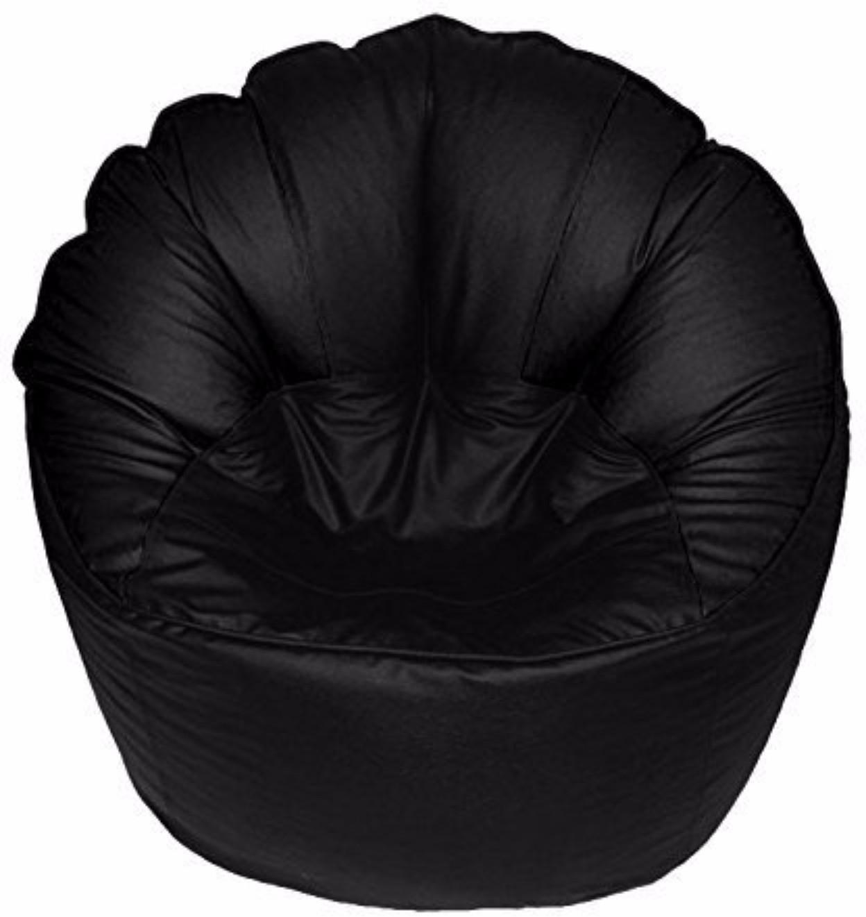 View VSK XXXL Bean Bag Cover(Black) Furniture (VSK)