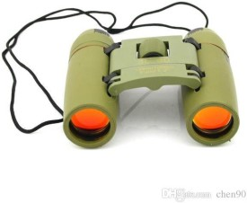 Sukot Sakura 30x-60x High Powered Mini Binoculars with Strap & Pouch Green Digital Binoculars(126 mm, Green)