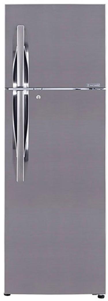 LG 260 L Frost Free Double Door Refrigerator(GL-T292RPZY, Shiny Steel, 2017)   Refrigerator  (LG)
