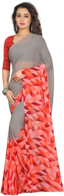 Divastri Self Design Fashion Georgette Saree(Multicolor) at flipkart