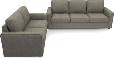 Urban Ladder Apollo Compact Fabric 3 + 2 Mist Sofa Set