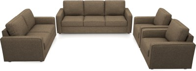 Urban Ladder Apollo Compact Fabric 3 + 2 + 1 + 1 Dune Sofa Set