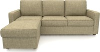 Urban Ladder Apollo Compact Fabric 3 + 1 Sandstorm Sofa Set