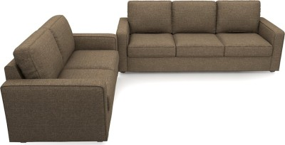Urban Ladder Apollo Compact Fabric 3 + 2 Dune Sofa Set