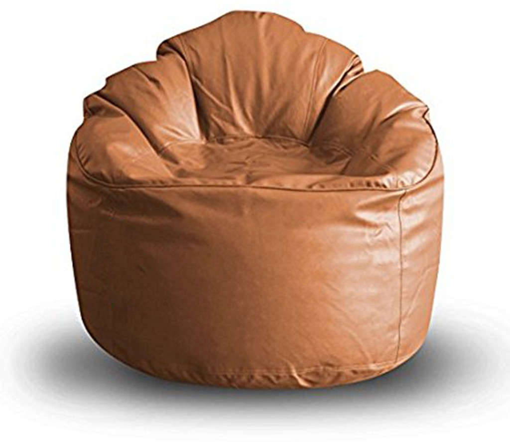 View Akhilesh Bean Bags & Furniture XXXL Bean Chair Cover(Brown) Furniture (Akhilesh Bean Bags & Furniture)