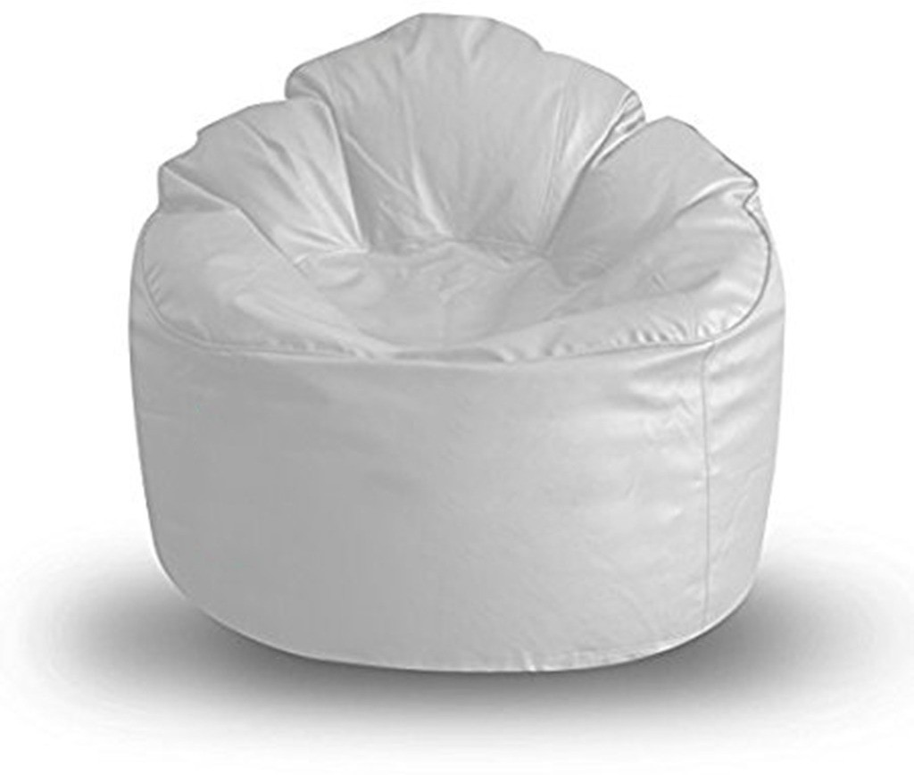 View Akhilesh Bean Bags & Furniture XXXL Bean Chair Cover(White) Furniture (Akhilesh Bean Bags & Furniture)