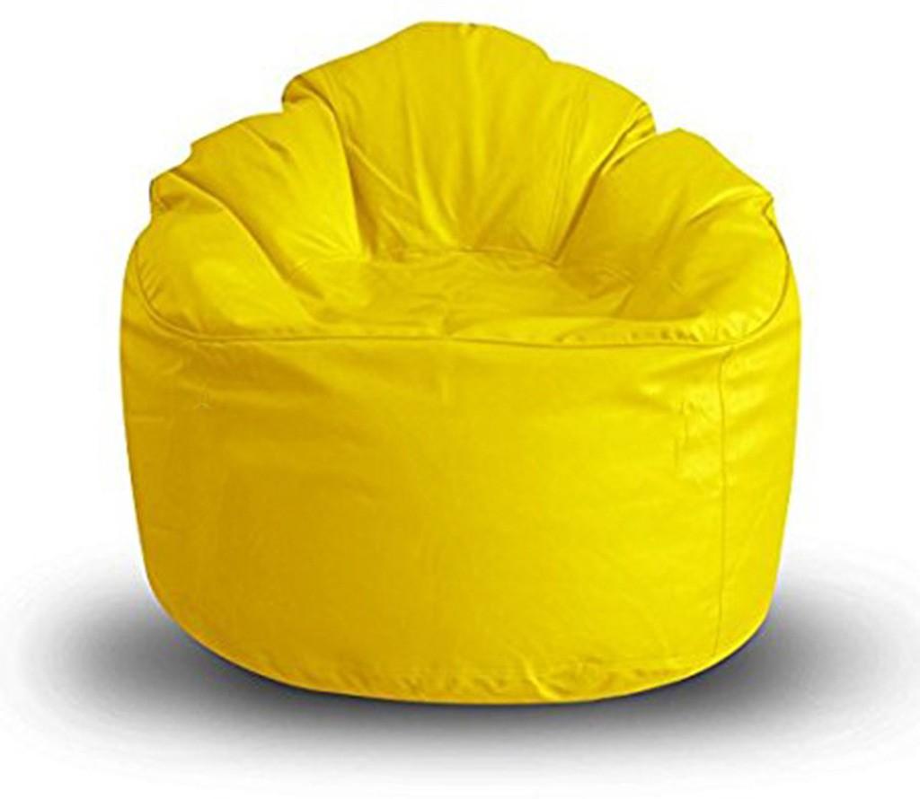 View Akhilesh Bean Bags & Furniture XXXL Bean Chair Cover(Yellow) Furniture (Akhilesh Bean Bags & Furniture)