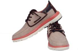 Clerk Boys Lace Sneakers(Brown)