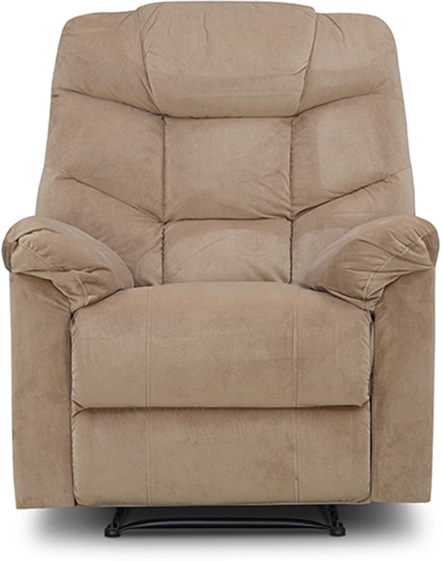 View HomeTown Fabric Manual Recliners(Finish Color - Beige) Price Online(HomeTown)