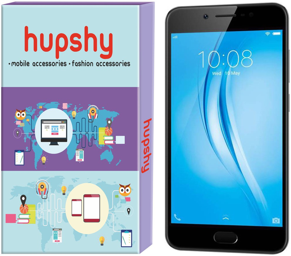 Hupshy Tempered Glass Guard for Vivo Y55s